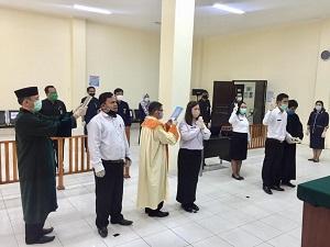 Pengambilan Sumpah PNS Oleh Ketua PTUN Pangkalpinang